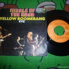 Discos de vinilo: MIDDLE OF THE ROAD YELLOW BOOMERANG. Lote 58373842
