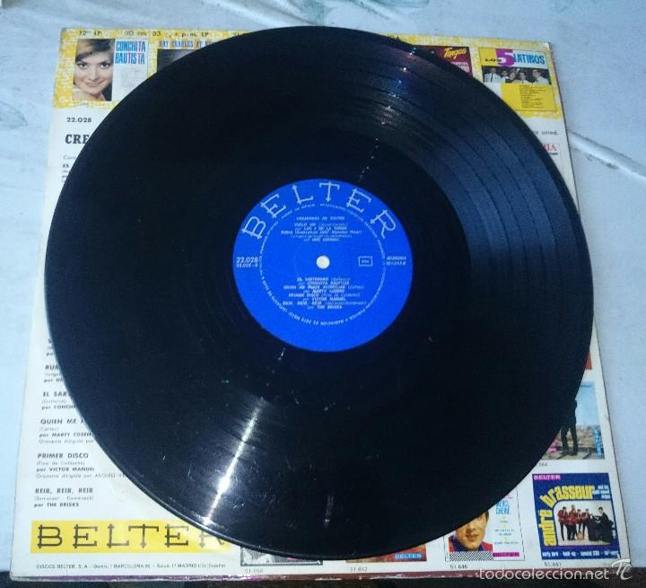 Discos de vinilo: CREADORES DE EXITOS (THE BRISKS, Alex marco, víctor Manuel, Mina...) (BELTER 1966) - Foto 3 - 58374227