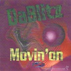 Discos de vinilo: DA BLITZ - MOVIN' ON - INPROGRESS - INPR1110 ITALY (D.J. GABRY PONTE VERSION) ORIGINAL RECORD. Lote 58376822