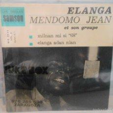 Discos de vinilo: ELANGA MENDOMO JEAN ET SON GROUPE - MILNAN MI SI 68. Lote 58390625
