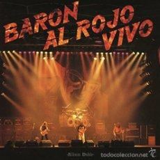 Discos de vinilo: 2LP BARON ROJO BARON AL ROJO VIVO SPANISH HEAVY METAL VINILO. Lote 58391627