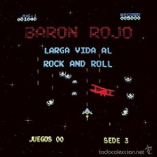 Discos de vinilo: LP BARON ROJO LARGA VIDA AL ROCK AND ROLL VINILOSPANISH HEAVY METAL CHAPA. Lote 58391771
