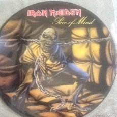 Discos de vinilo: IRON MAIDEN LP KILLERS CON LA PORTADA DEL PIECE OF MIND. Lote 58392577