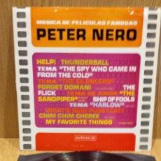 Discos de vinilo: PETER NERO. MÚSICA DE PELÍCULAS FAMOSAS. LP / RCA-VICTOR - 1966 / MBC. ***/***. Lote 58393090