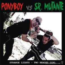 Discos de vinilo: EP SR MUTANTE VS PONYBOY SPANISH ROCKABILLY VINILO+ CDR . Lote 58394273