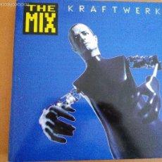 Discos de vinilo: KRAFTWERK THE MIX 2XLPS CARPETA DOBLE CON INSERTOS SPAIN 1991. Lote 58394189