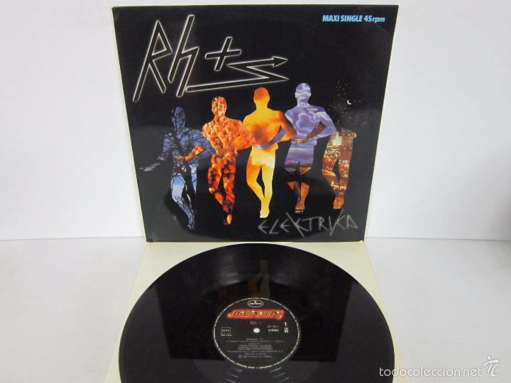 RH + - ELEKTRIKA - MX - MERCURY 1984 SPAIN (Música - Discos de Vinilo - Maxi Singles - Grupos Españoles de los 70 y 80)