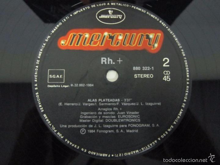 Discos de vinilo: RH + - ELEKTRIKA - MX - MERCURY 1984 SPAIN - Foto 2 - 58395397
