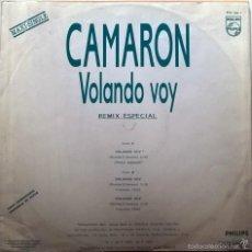 Discos de vinilo: CAMARÓN. VOLANDO VOY (REMIX ESPECIAL). RUMBA VENENO. PHILIPS. ESP. 1990 (MAXI LP 12' PROMOCIONAL) . Lote 58395727