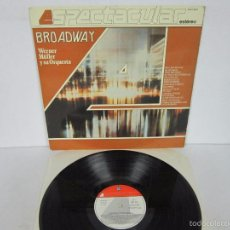 Vinyl-Schallplatten - WERNER MÜLLER - BROADWAY ESPECTACULAR 4 FASES - LP - TELEFUNKEN 1983 SPAIN PROMO - 58395788