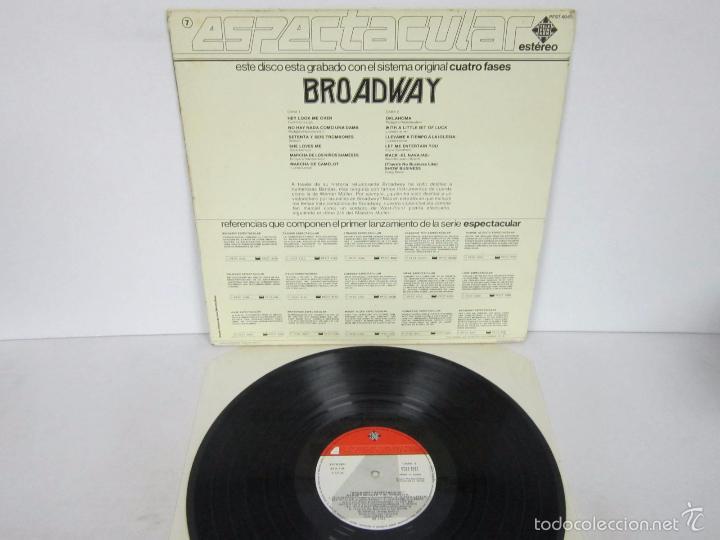 Discos de vinilo: WERNER MÜLLER - BROADWAY ESPECTACULAR 4 FASES - LP - TELEFUNKEN 1983 SPAIN PROMO - Foto 3 - 58395788