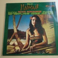 Discos de vinilo: L.P. HITS OF HAWAII. PACIFIC SERENADERS, CON 12 CANCIONES.. Lote 58398211