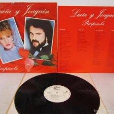Disques de vinyle: PIMPINELA - LUCIA Y JOAQUIN - EPIC 1985 SPAIN CON LETRAS - PROMO - VINILO NUEVO. Lote 58398482