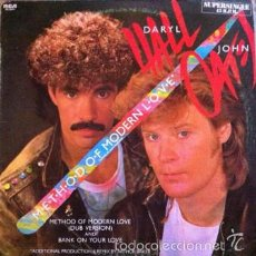 Discos de vinilo: DARYL HALL & JOHN OATES - METHOD OF MODERN LOVE (DUB VERSION) AND BANK ON YOUR LOVE - RCA - PC-3971. Lote 58398678