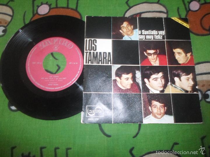 Discos de vinilo: LOS TAMARA - A SANTIAGO VOY - Foto 2 - 58402542