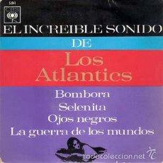 Discos de vinilo: LOS ATLANTICS - BOMBORA + 3 (EP DE 4 CANCIONES) CBS 1964 - EX/EX. Lote 58404312