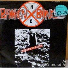 Discos de vinilo: BROKEN BONES - TRADER IN DEATH 12 ENGLAND - RFB SIN 4 - 1987. Lote 58405838