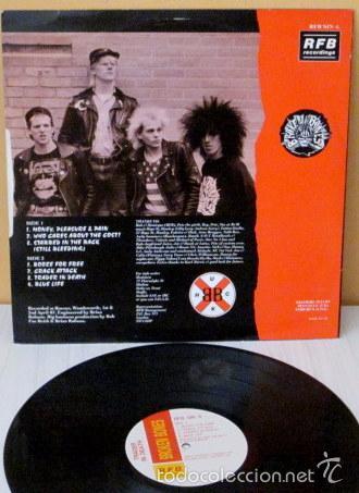 Discos de vinilo: BROKEN BONES - TRADER IN DEATH 12 ENGLAND - RFB SIN 4 - 1987 - Foto 2 - 58405838