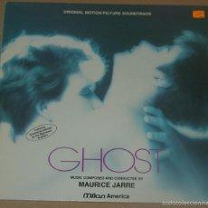 Discos de vinilo: GHOST - MAURICE JARRE - EDICION FRANCESA 1990. Lote 58409010