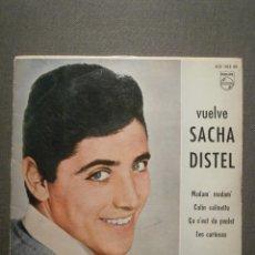 Discos de vinilo: DISCO - VINILO - EP - VUELVE SACHA DISTEL - MADAM' MADAM' / CALIN CALINETTE + 2 - PHILIPS - 1961. Lote 58409739