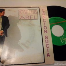 Discos de vinilo: MUSICA SINGLE JOSE LUIS ABEL CANCION SUCIA OJC. Lote 58410559