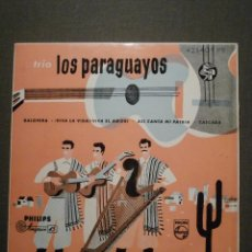Discos de vinilo: DISCO - VINILO - EP - TRIO LOS PARAGUAYOS - GALOPERA - VIVA LA VIDA, VIVA EL AMOR + 2, PHILIPS 1965. Lote 58411340