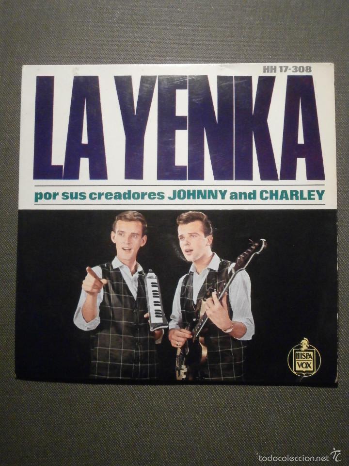 DISCO - VINILO - EP - LA YENKA - POR SUS CREADORES - EH NENA + 3 - HISPAVOX - 1954 (Música - Discos de Vinilo - EPs - Pop - Rock Extranjero de los 50 y 60)