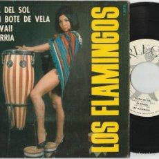 Discos de vinilo: LOS FLAMINGOS - COSTA DEL SOL + 3 (EP ARLEQUIN 1965). Lote 58411538