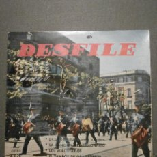 Discos de vinilo: DISCO - VINILO - EP -DESFILE - BANDA DE AVIACIÓN DE MADRID - LAS CORSARIAS + 3 - ZAFIRO 1959. Lote 58411782
