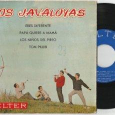 Discos de vinilo: LOS JAVALOYAS - ERES DIFERENTE + 3 (EP BELTER 1960). Lote 58411840