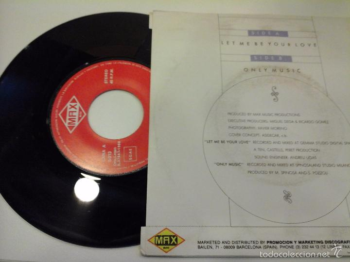 Discos de vinilo: musica single silver let me your love ojc - Foto 2 - 58411855