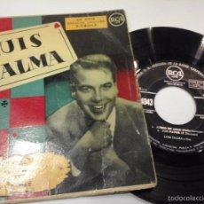 Discos de vinilo: MUSICA SINGLE LUIS TALMA JUEGO DE AZAR AÑOS 50 DIFICIL OJC. Lote 58411915
