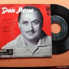 Discos de vinilo: DARIO MORENO EP PHILIPS FRANCE IMPLORATION + 3 BSO PEPETO. Lote 58412234