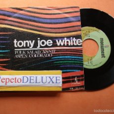Discos de vinilo: TONI JOE WHITE POLK SALAD ANNIE SINGLE SPAIN 1969 PDELUXE. Lote 58412321