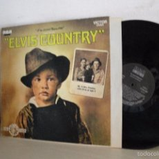 Discos de vinilo: ELVIS COUNTRY-RCA MADRID- 1987-. Lote 58412955