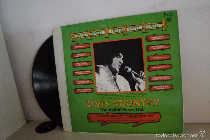 Discos de vinilo: ELVIS COUNTRY-RCA MADRID- 1987- - Foto 2 - 58412955