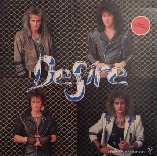 DESIRE - DESIRE (JUSTINE, C-062, LP, 1988) SANGRE AZUL, JUPITER, NIAGARA (Música - Discos - LP Vinilo - Heavy - Metal)