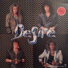 Discos de vinilo: DESIRE - DESIRE (JUSTINE, C-062, LP, 1988) SANGRE AZUL, JUPITER, NIAGARA . Lote 58413597