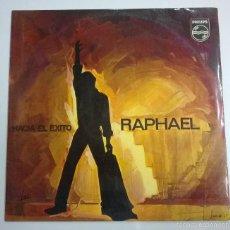 Discos de vinilo: RAPHAEL.HACIA EL EXITO.LP.ESPAÑA 1967.PHILIPS.. Lote 58414536