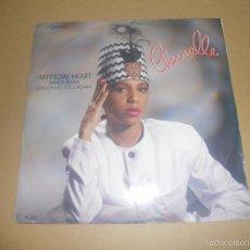 Discos de vinilo: CHERRELLE (MX) ARTIFICIAL HEART +1 TRACK AÑO 1986 - EDICION U.K.. Lote 58420621