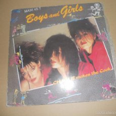Discos de vinilo: CHARLIE MAKES THE COOK (MX) BOYS AND GIRLS +1 TRACK AÑO 1987. Lote 58420769