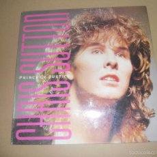 Discos de vinilo: CHRIS SUTTON (MX) PRINCE OF JUSTICE +2 TRACKS AÑO 1986. Lote 58420848