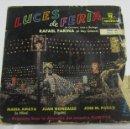 Discos de vinilo: SINGLE. LUCES DE FERIA DE QUINTERO, LEON Y QUIROGA. RAFAEL FARINA. VOL.II. MONTILLA.. Lote 58420890