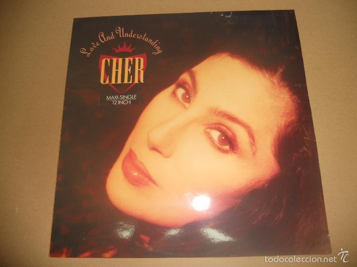 CHER (MX) LOVE AND UNDERSTANDING +2 TRACKS AÑO 1991 (Música - Discos de Vinilo - Maxi Singles - Pop - Rock Extranjero de los 90 a la actualidad)
