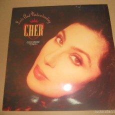 Discos de vinilo: CHER (MX) LOVE AND UNDERSTANDING +2 TRACKS AÑO 1991. Lote 58421048