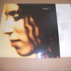Discos de vinilo: TITIYO (LP) TITIYO 1990 AÑO 1990 - ENCARTE INTERIOR CON LETRAS. Lote 58422740