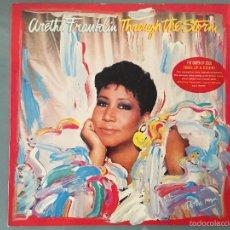 Discos de vinilo: ARETHA FRANKLIN: THROUGH THE STORM. Lote 58425238