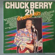 Discos de vinilo: CHUCK BERRY: 20 GREATEST HITS. Lote 58425305