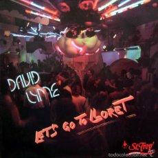 Discos de vinilo: DAVID LYME - LET'S GO TO LLORET - MAX MUSIC - MAX 133 SPAIN. Lote 58425452