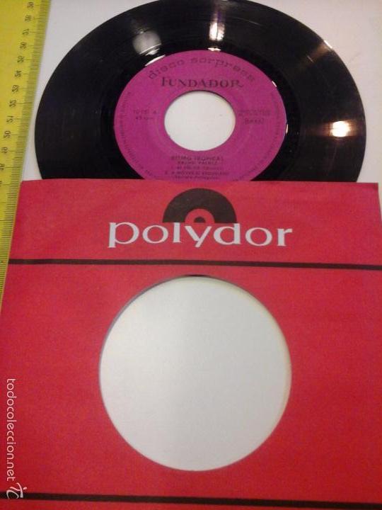 Discos de vinilo: musica single cacho valdes ritmo tropical oj.c - Foto 2 - 58426279